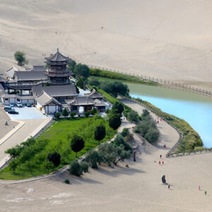 China, Dunhuang - Crescent Lake 1