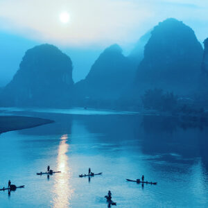 China, Guilin - Li River