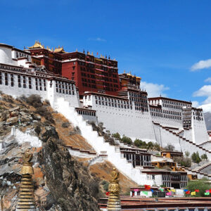 China, Tibet - Potala 1