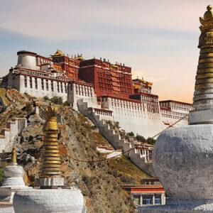 China, Tibet - Potala 4