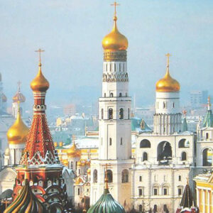 Russia, Moscow Doms