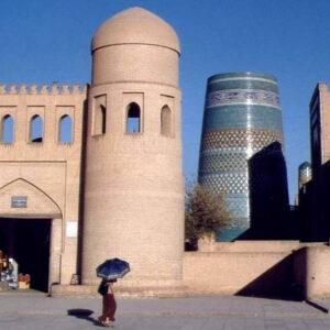 Uzbekistan, Khiva Porte