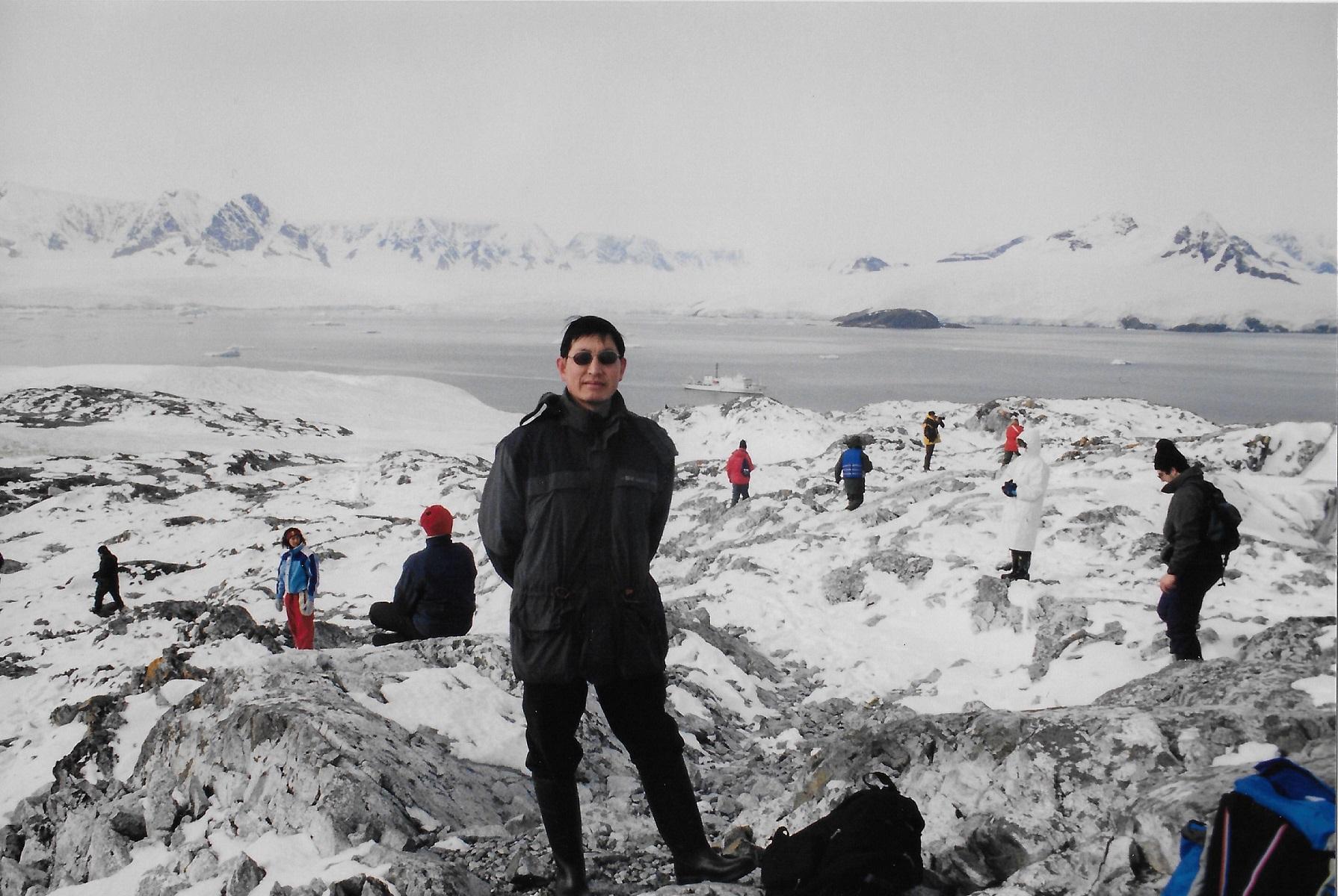 Chris - Antarctica