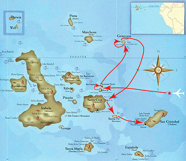 MY-Galapagos-Seaman-Journey 4 days
